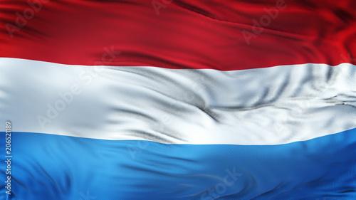 luksemburg-realistyczna-flaga-macha-backgro