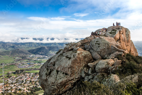 Tableau sur Toile San Luis Obispo from Bishop Peak in California