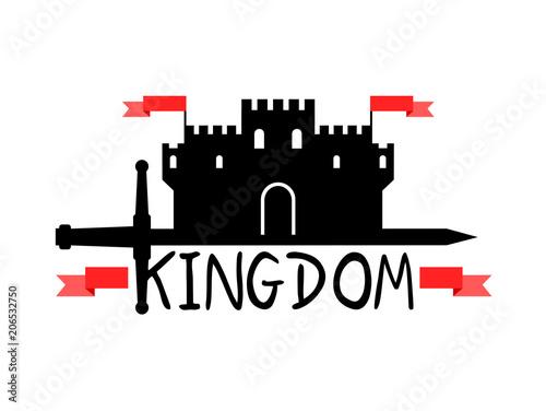 Poster  Medieval kingdom symbol