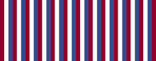 Red White And Blue Vertical St...