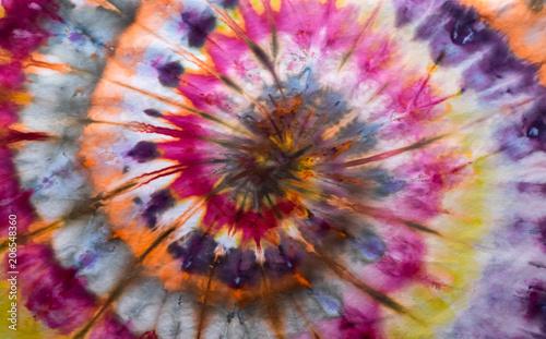 Photo  Tie-Dye Swirl