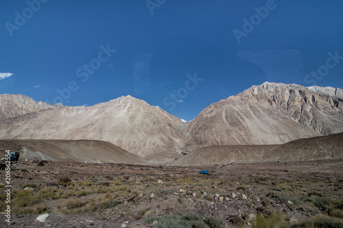 Fotobehang Donkergrijs Landscape of Leh Ladakh