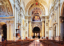 Interior Of Bologna Cathedral