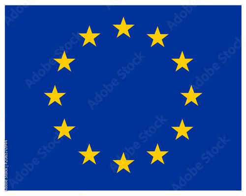 EUヨーロッパ連合 アイコン 旗 -...