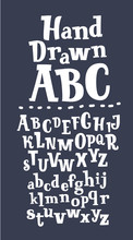 Alphabet. Hand Drawn Letters I...