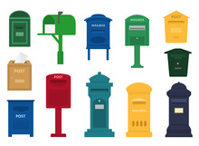 Mail Box Vector Post Mailbox O...