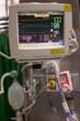 Modern medical equipment,ventilator machine in hospital