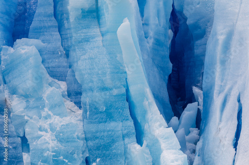 Foto auf Gartenposter Glaciers Ice field of the Grey Glacier