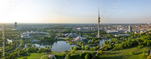 Photo Stands Paris Olympiapark Panorama - Munich, Germany
