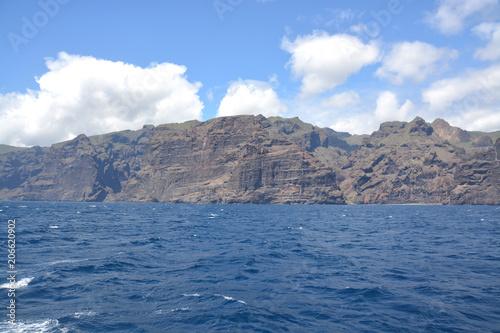 Acantilados en la costa de Tenerife