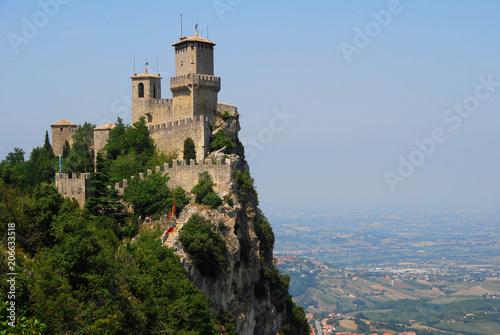 Rocco Gualta auf dem Monte Titano in San Marino
