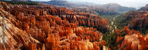 Inspiration Point, Bryce Canyon, Utah, USA Wallpaper Mural