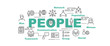 people vector banner