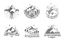 Travel Set With Emblems. Summe...