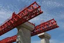 New Highway Bridge Under Construction