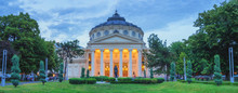 Panorama Of Bucharest Atheneum...
