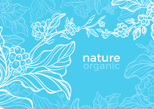 Vector Template For Nature Cof...