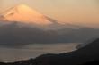 Mountain Fuji winter in morning