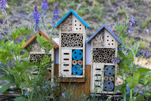 Special House For Useful Garden Insects, Built Of Natural Materials. Creates Natural Conditions For Maintaining The Population Of Natural Enemies Of Garden Pests.