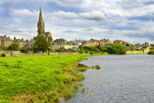 Kelso, Scotland - Kelso Is A Market Town In The Scottish Borders Area Of Scotland. UK