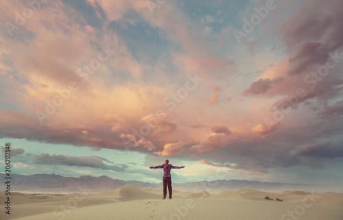 Obraz Sand dunes in California - fototapety do salonu