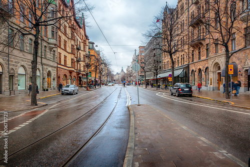 Photo  Street in Stockholm