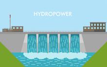 Vector Hydropower Dam.