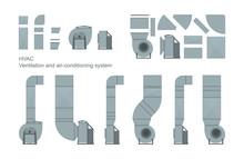 Vector Set Of Ventilation Elem...