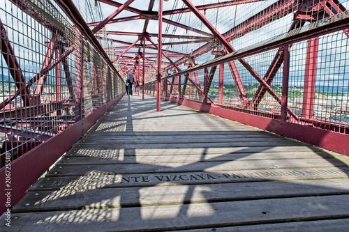 At the top of Puente Vizcaya