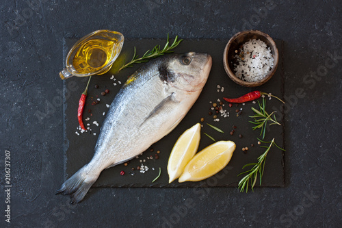 Foto op Aluminium Vis Dorado Fish (Sea Bream Fish)