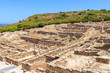 The ancient city of Kamiros located in the northwest of the island of Rhodes.