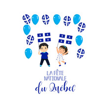 Quebec National Day Greeting C...