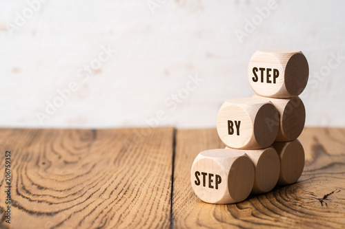 Fotografie, Obraz  Step By Step to the top