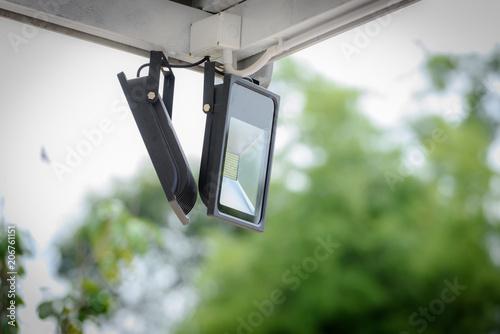 Obraz Spotlight Outdoor installation - fototapety do salonu