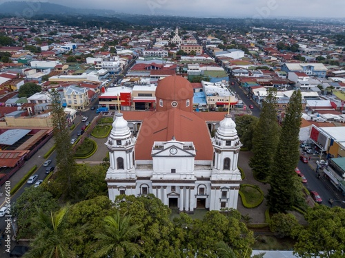 Photo Beautiful aerial view of Alajuela Costa Rica