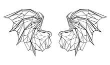 Polygonal Dragon Wings