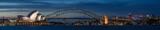 Port w Sydney o zmierzchu, Sydney NSW, Australia
