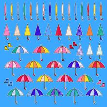 傘のイラスト,
