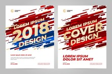 Layout Template Design For Sport