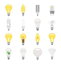 Light Bulb Vector Lightbulb Id...