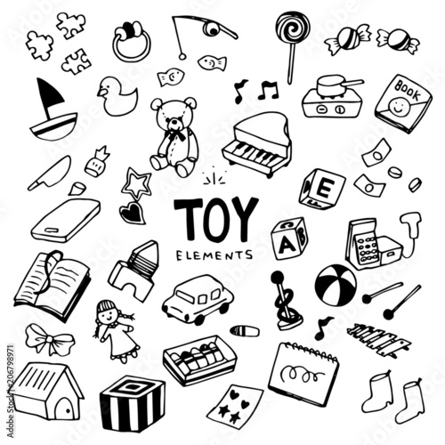 Obraz Toy Illustration Pack - fototapety do salonu