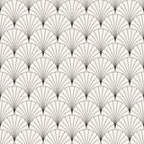 Wektorowy bezszwowy rocznika wzór nakładać się łuki w stylu art deco. Nowoczesne stylowe streszczenie tekstura. Powtarzające się geometryczne płytki .. - 206806712