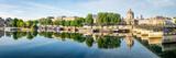 Fototapeta Fototapety Paryż - Pont des Arts und Insitut de France in Paris, Frankreich