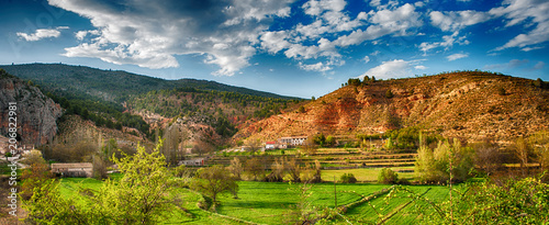 Beautiful countryside landscape in Spain