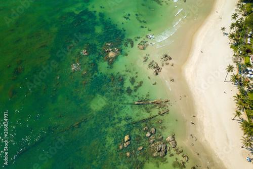 Valokuva  Ariel view Hua Hin beach in Thailand