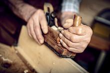 Hands With Handplaner