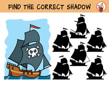 Pirate Ship. Find The Correct ...
