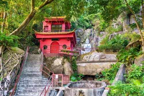 Tuinposter Aziatische Plekken The Ten Thousand Buddhas Monastery in Hong Kong