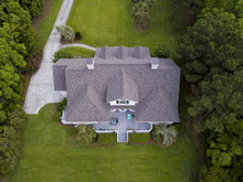 Aerial View Of Large Home With...