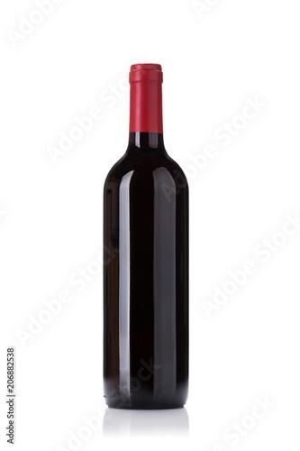 Tablou Canvas Red wine bottle